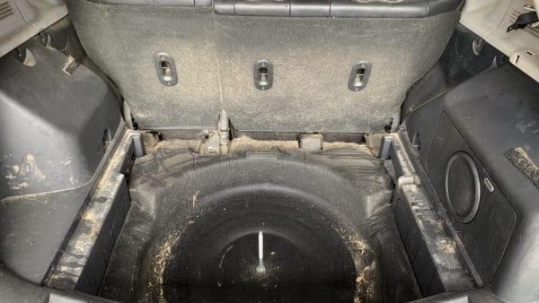 Innenreinigung Jeep Starke Verschmutzung 06