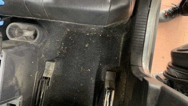 Innenreinigung Jeep Starke Verschmutzung 09